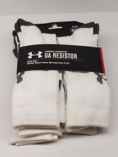 Under Armour Men's UA Resistor Crew Socks 6 Pack of Socks MD (4 - 8 1/2)