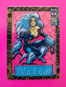1994 Marvel Suspended Animation Insert #11 BLACK CAT (MINT) *ACETATE INSERT* WOW