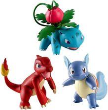 Tomy Pokémon Action Pose 3 Paquet de Figurines: Ivysaur Charmeleon Wartortle