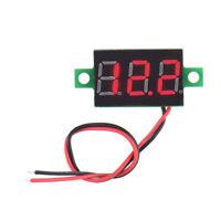 High Quality Electric Red LCD Digital Panel Voltmeter Volt Meter DC 4.5-30V Hot