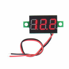 High Quality Electric Red LCD Digital Panel Voltmeter Volt Meter DC 4.5-30V Hot