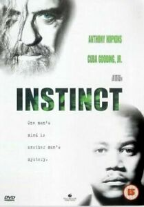 INSTINCT DVD Cuba Gooding Jr. Anthony Hopkins 1999 Thriller Movie - REGION 2
