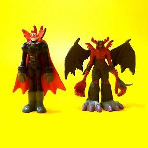 Digimon Digital Monsters Myotismon & Venom Mini Figure Toy Bandai 2000 vintage