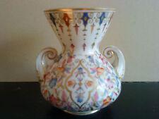 Derby Crown Porcelain Company Ltd Floral vase dating to 1877 - 1890