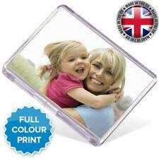 Personalised Fridge Magnet-Custom Photo Gift, JUMBO SIZE. 9CM * 6CM / UK SELLER
