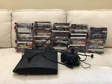 HUGE PS3 97 All Different Game collection w/Slim system! RARE games! No Reserve!