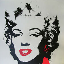 Andy Warhol Gold Marilyn Monroe Sunday B Morning Serigraph Silkscreen #2