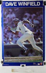 "Dave Winfield NY Yankees Original MLB Starline Poster 1987 22 1/2"" x 34 1/2"""