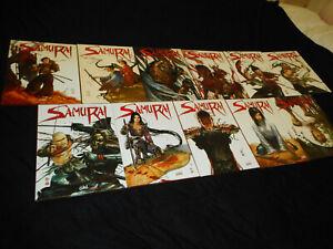 Di Giorgio / Genêt : Cycle Samurai 1 à 11 Editions Soleil