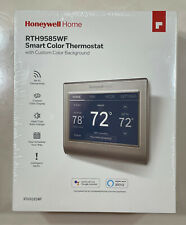 Honeywell Home Smart Color Thermostat Model: RTH9585WF Wi-Fi Connectivity-Silver