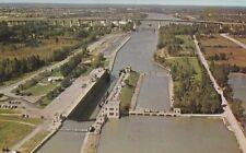 Lock No. 3 Seaway System ST. CATHARINES Ontario Canada Postcard