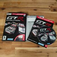 GTR Evolution For PC DVD ROM Game  Complete With Manual Good Condition