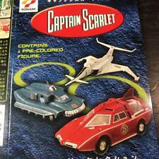 Konami Captain Scarlet 6 models set !! Sealed SF Movie Selection Japan Limited