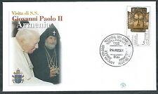 2001 VATICANO VIAGGI DEL PAPA ARMENIA - SV10
