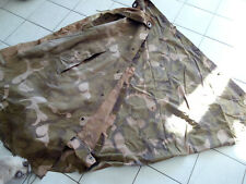 TWO M1952 CAMOUFLAGE Shelter half, poncho.