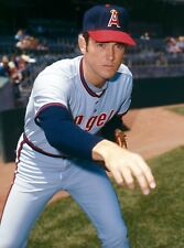 NOLAN RYAN ALLTIME HALL OF FAME GREAT ANGELS 8x10 classic