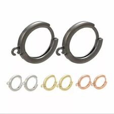 Brand New High Quality Round Earring Hoop Hook with Leverback Close