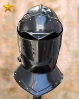 LARP MEDIEVAL ARMOUR KNIGHT CLOSED HELMET REPLICA