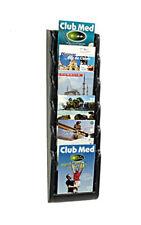 porta brochure da Muro parete a 6 tasche A5 x agenzia viaggi ditta negozio fiera