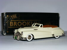 Brooklin BRK45a 1948 Buick Roadmaster Convertible Cream 1/43