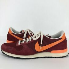 Nike Air Vortex Mens 13 Shoes Sneakers Low Retro Red Orange Virginia Tech Hokies