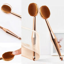 Soft Face Make Up Foundation Cream Powder Concealer Cosmetic blending Oval Brush