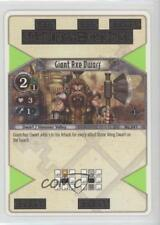 2007 The Eye of Judgement Battle Card Game Base #041 Giant Axe Dwarf Gaming 2ic