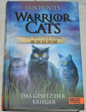 Buch Warrior Cats Die Welt der Clans-Das Gesetz der Krieger, gebunden - sehr gut