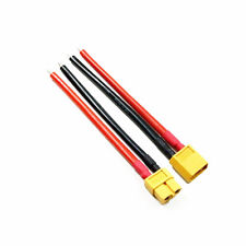 1PCS XT60 Connector Female W/ Housing 10CM / 100mm Silicon Wire 14AWG Cable CA