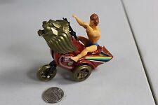RARE 1980s MOTU HE-MAN FIGURE Lion motorcycle friction toy bootleg KO Weird HTF