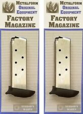 TWO Metalform Sig Sauer P238 .380 7 Round Extended Magazines 380793SSE FAST SHIP