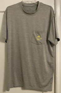 Southern Marsh Logo Graphic Back Performance Stretch T Shirt Men's Sz M!