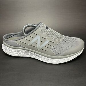 New Balance 900 Mens Grey White Foam Slip On Walking Shoes MA900GY Size 11 D
