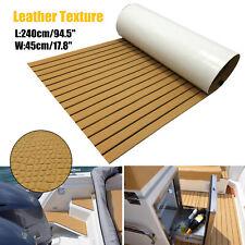 Luxurious Leather EVA Foam Boat Deck Flooring Synthetic Teak Decking Sheet Mat