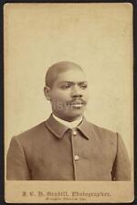 US Army Buffalo Soldier African American USA Dakota 1884 7x5 Inch Reprint Photo