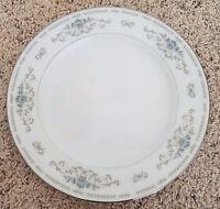 "Fine China Japan DIANE 10 3/8"" Dinner Plates Set of 6"