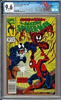 Amazing Spider-Man (1st Series) #362 CGC 9.6 White Venom Carnage Human Torch app