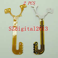 2PCS/ Lens Shutter Flex Cable For NIKON S200 S220 S210 Digital Camera Repair