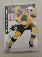Marcus Pettersson 2020-21 Upper Deck Series 2 French Variation SP #394 Penguins