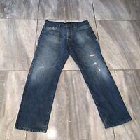 Calvin Klein Jeans MENS 36 X 30 JEANS Distressed