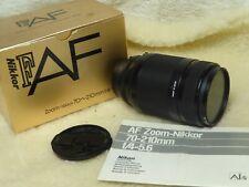 Nikon AF Zoom Nikkor 70-210mm f/4-5.6 Lens * Boxed & Excellent