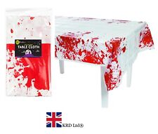 Long HALLOWEEN BLOOD TABLE CLOTH Tablecloth Party Decoration Cover 178 x132cm UK