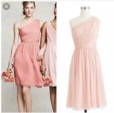 c51da813925 J Crew Silk Chiffon Kylie Dress Pink Bridesmaid Size 8