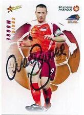 ✺Signed✺ 2008 2009 BRISBANE ROAR A-League Card CRAIG MOORE