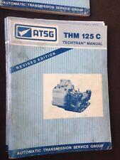 atsg transmisison seminar book manual THM 125 C Techtran Manual