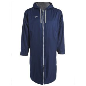Speedo Unisex Swimming Deck Coat - Navy - Swimming Parka