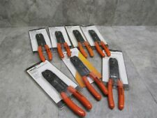 Lot Of 7 New Woods Multi Tool 85 Wire Cable Strip Cut Loop Shears Crimp Cable