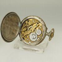 Rare! Taschenuhr Herren Uhr Uhren no spindel chronometer duplex armbanduhr RAR