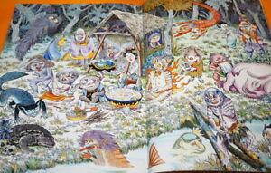 Shigeru Mizuk Japanese Monster YOKAI Japan Local Map Book KAPPA ONI TENGU #1128