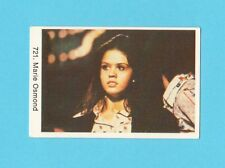 Marie Osmond Vintage 1970s Pop Rock Music Card from Sweden #721